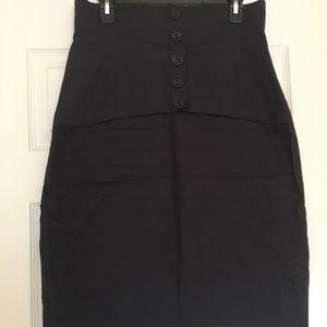 H&M Below Knee Pencil Skirt